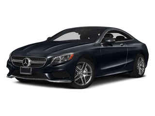 Anthracite Blue Metallic 2017 Mercedes-Benz S-Class Pictures S-Class Coupe 2D S550 AWD V8 Turbo photos front view