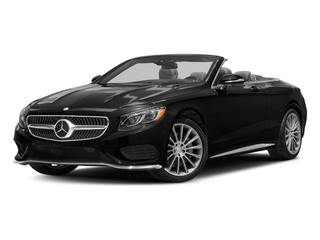 Obsidian Black Metallic 2017 Mercedes-Benz S-Class Pictures S-Class Convertible 2D S550 V8 Turbo photos front view