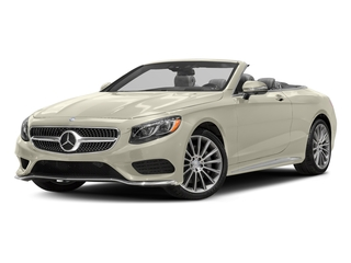 designo Diamond White Metallic 2017 Mercedes-Benz S-Class Pictures S-Class Convertible 2D S550 V8 Turbo photos front view
