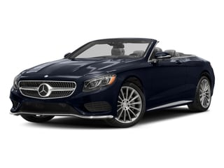 Lunar Blue Metallic 2017 Mercedes-Benz S-Class Pictures S-Class Convertible 2D S550 V8 Turbo photos front view