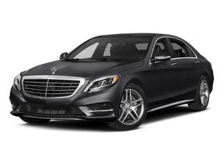Black 2017 Mercedes-Benz S-Class Pictures S-Class Sedan 4D S550 AWD V8 Turbo photos front view