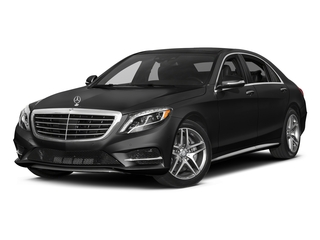 Obsidian Black Metallic 2017 Mercedes-Benz S-Class Pictures S-Class S 550 Sedan photos front view