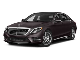 Ruby Black Metallic 2017 Mercedes-Benz S-Class Pictures S-Class Sedan 4D S550 AWD V8 Turbo photos front view