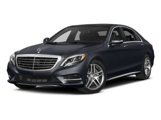 Anthracite Blue Metallic 2017 Mercedes-Benz S-Class Pictures S-Class Sedan 4D S550 AWD V8 Turbo photos front view
