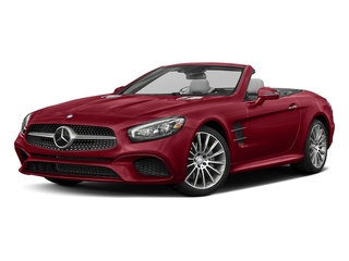 Mars Red 2017 Mercedes-Benz SL Pictures SL SL 550 Roadster photos front view