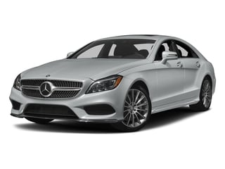 Iridium Silver Metallic 2017 Mercedes-Benz CLS Pictures CLS CLS 550 Coupe photos front view