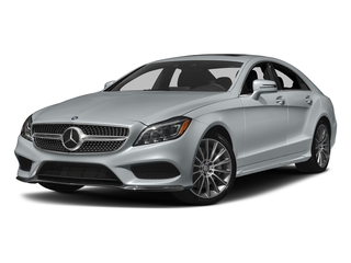 Diamond Silver Metallic 2017 Mercedes-Benz CLS Pictures CLS CLS 550 Coupe photos front view