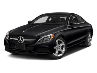 Black 2017 Mercedes-Benz C-Class Pictures C-Class Coupe 2D C300 AWD photos front view
