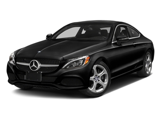 Obsidian Black Metallic 2017 Mercedes-Benz C-Class Pictures C-Class C 300 Coupe photos front view