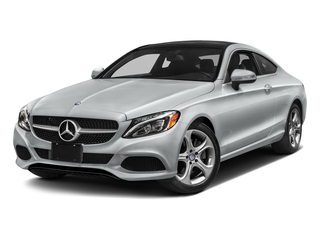 Iridium Silver Metallic 2017 Mercedes-Benz C-Class Pictures C-Class Coupe 2D C300 AWD photos front view