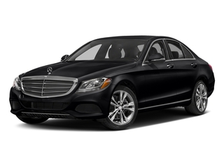 Black 2017 Mercedes-Benz C-Class Pictures C-Class Sedan 4D C300 AWD I4 Turbo photos front view