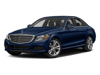 Brilliant Blue Metallic 2017 Mercedes-Benz C-Class Pictures C-Class Sedan 4D C300 AWD I4 Turbo photos front view