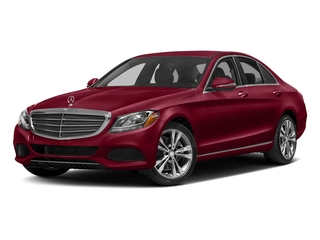 designo Cardinal Red Metallic 2017 Mercedes-Benz C-Class Pictures C-Class Sedan 4D C300 AWD I4 Turbo photos front view