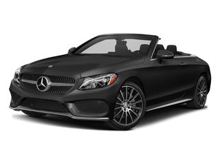 Obsidian Black Metallic 2017 Mercedes-Benz C-Class Pictures C-Class Convertible 2D C300 AWD I4 Turbo photos front view