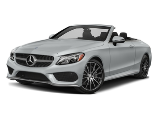 Iridium Silver Metallic 2017 Mercedes-Benz C-Class Pictures C-Class Convertible 2D C300 AWD I4 Turbo photos front view