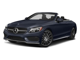 Lunar Blue Metallic 2017 Mercedes-Benz C-Class Pictures C-Class Convertible 2D C300 AWD I4 Turbo photos front view