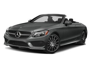 Selenite Grey Metallic 2017 Mercedes-Benz C-Class Pictures C-Class Convertible 2D C300 AWD I4 Turbo photos front view