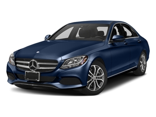 Brilliant Blue Metallic 2017 Mercedes-Benz C-Class Pictures C-Class Sedan 4D C300 I4 Turbo photos front view