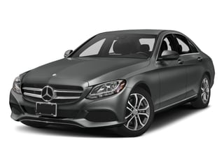 Selenite Grey Metallic 2017 Mercedes-Benz C-Class Pictures C-Class Sedan 4D C300 I4 Turbo photos front view