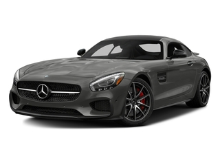 designo Magno Selenite Grey (Matte Finish) 2017 Mercedes-Benz AMG GT Pictures AMG GT S 2 Door Coupe photos front view