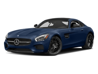 Brilliant Blue 2017 Mercedes-Benz AMG GT Pictures AMG GT 2 Door Coupe photos front view