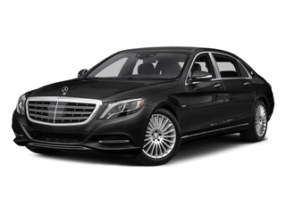 Magnetite Black Metallic 2017 Mercedes-Benz S-Class Pictures S-Class Maybach S 600 Sedan photos front view