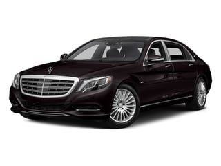 Ruby Black Metallic 2017 Mercedes-Benz S-Class Pictures S-Class Maybach S 600 Sedan photos front view