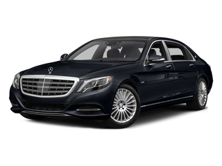 Anthracite Blue Metallic 2017 Mercedes-Benz S-Class Pictures S-Class Maybach S 600 Sedan photos front view