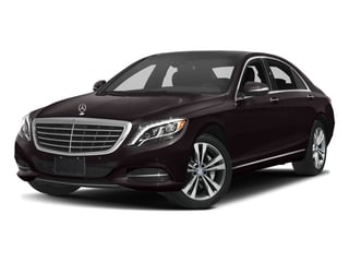 Ruby Black Metallic 2017 Mercedes-Benz S-Class Pictures S-Class Sedan 4D S550e V6 Turbo photos front view