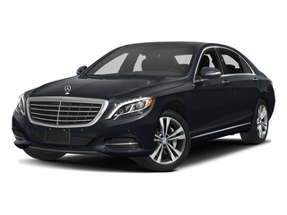 Anthracite Blue Metallic 2017 Mercedes-Benz S-Class Pictures S-Class Sedan 4D S550e V6 Turbo photos front view