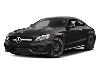 Obsidian Black Metallic 2017 Mercedes-Benz C-Class Pictures C-Class Coupe 2D C63 AMG V8 Turbo photos front view