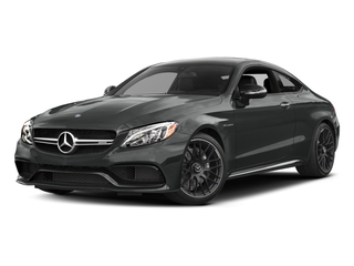 Selenite Grey Metallic 2017 Mercedes-Benz C-Class Pictures C-Class Coupe 2D C63 AMG V8 Turbo photos front view
