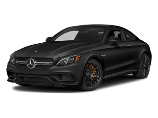 Obsidian Black Metallic 2017 Mercedes-Benz C-Class Pictures C-Class AMG C 63 S Coupe photos front view