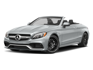 Iridium Silver Metallic 2017 Mercedes-Benz C-Class Pictures C-Class AMG C 63 Cabriolet photos front view