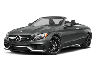 Selenite Grey Metallic 2017 Mercedes-Benz C-Class Pictures C-Class Convertible 2D C63 AMG V6 Turbo photos front view