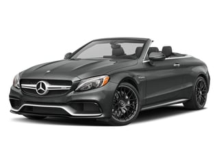 Selenite Grey Metallic 2017 Mercedes-Benz C-Class Pictures C-Class AMG C 63 Cabriolet photos front view