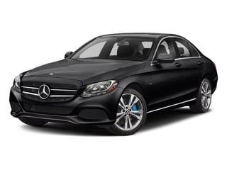 Black 2017 Mercedes-Benz C-Class Pictures C-Class C 350e Sedan photos front view