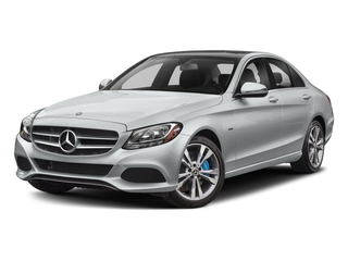 Iridium Silver Metallic 2017 Mercedes-Benz C-Class Pictures C-Class C 350e Sedan photos front view