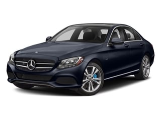 Lunar Blue Metallic 2017 Mercedes-Benz C-Class Pictures C-Class C 350e Sedan photos front view