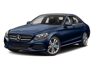 Brilliant Blue Metallic 2017 Mercedes-Benz C-Class Pictures C-Class C 350e Sedan photos front view