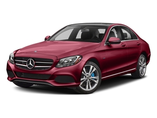 designo Cardinal Red Metallic 2017 Mercedes-Benz C-Class Pictures C-Class C 350e Sedan photos front view