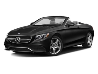 Obsidian Black Metallic 2017 Mercedes-Benz S-Class Pictures S-Class Convertible 2D S63 AMG AWD V8 Turbo photos front view