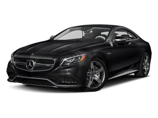 Black 2017 Mercedes-Benz S-Class Pictures S-Class Coupe 2D S63 AMG AWD V8 Turbo photos front view