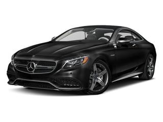 Obsidian Black Metallic 2017 Mercedes-Benz S-Class Pictures S-Class AMG S 63 4MATIC Coupe photos front view