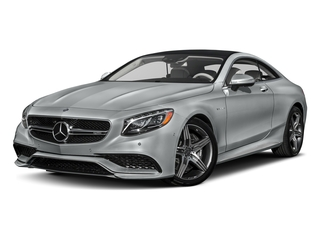 Iridium Silver Metallic 2017 Mercedes-Benz S-Class Pictures S-Class AMG S 63 4MATIC Coupe photos front view