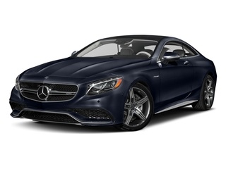 Lunar Blue Metallic 2017 Mercedes-Benz S-Class Pictures S-Class AMG S 63 4MATIC Coupe photos front view