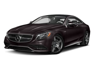 Ruby Black Metallic 2017 Mercedes-Benz S-Class Pictures S-Class Coupe 2D S63 AMG AWD V8 Turbo photos front view