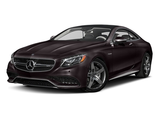 Ruby Black Metallic 2017 Mercedes-Benz S-Class Pictures S-Class AMG S 63 4MATIC Coupe photos front view