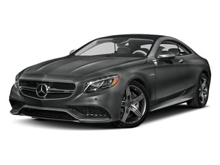 Selenite Grey Metallic 2017 Mercedes-Benz S-Class Pictures S-Class Coupe 2D S63 AMG AWD V8 Turbo photos front view