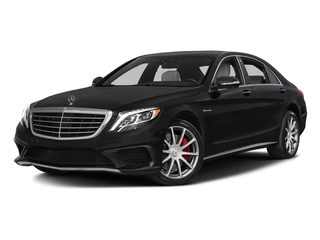Black 2017 Mercedes-Benz S-Class Pictures S-Class AMG S 63 4MATIC Sedan photos front view